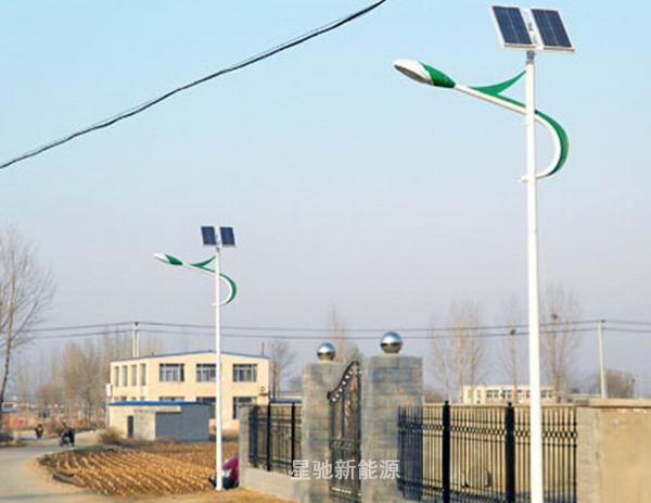锂电池太阳能路灯8米